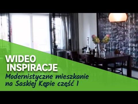 Modernistyczne mieszkanie na Saskiej Kępie część 1 (wideo)
