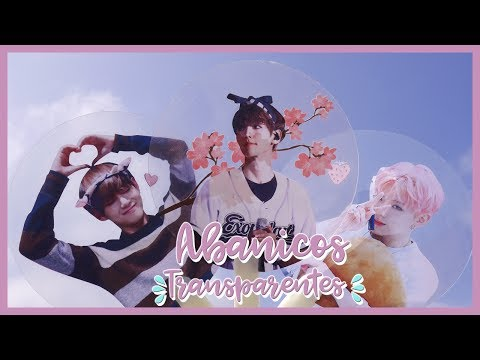 DIY K-POP : ¡Haz tus propios Abanicos / Uchiwas transparentes de tus grupos favoritos!
