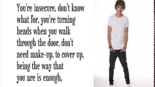 One Direction - What Makes You Beautiful (Lyrics)