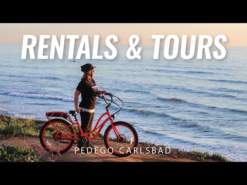 Electric Bike Rentals and Tours | Carlsbad, California | Pedego Carlsbad