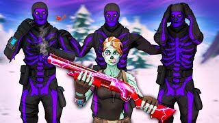 Ghoul Trooper Tries Out For The Rarest Purple Skull Trooper Only Clan...