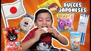 Probando Dulces Japoneses Extraños   Family Juega