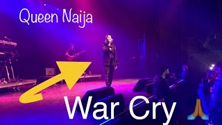 Queen Naija- Performs War Cry Live FULL SONG