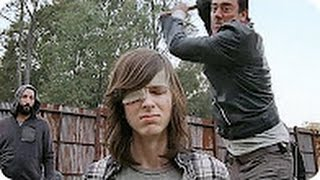 The Walking Dead 7x16 Shiva Saves Carl From Negan / All Out War Begins