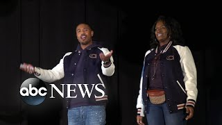 Michael B. Jordan surprises high school students in his hometown