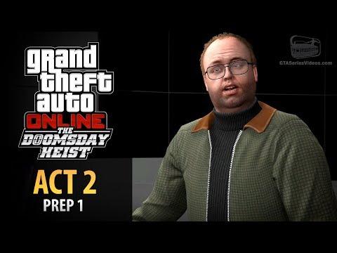 GTA Online: Doomsday Heist Act #2 - Prep: Keycards (Elite & Mastermind II)