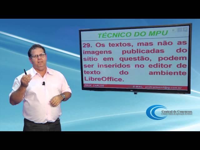 [MPU 2013: Correção da prova de Informática]