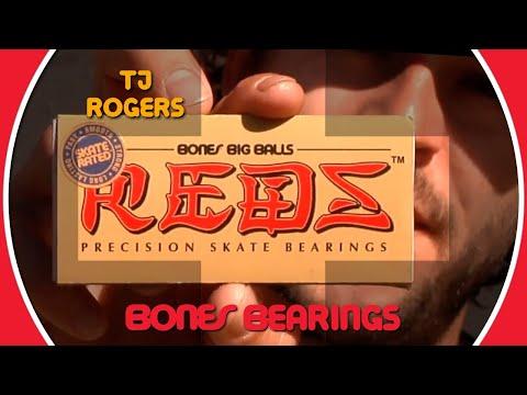 Video BONES Roulement BIG BALL REDS [x8]