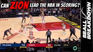 Could Zion Williamson Lead The NBA In Scoring?