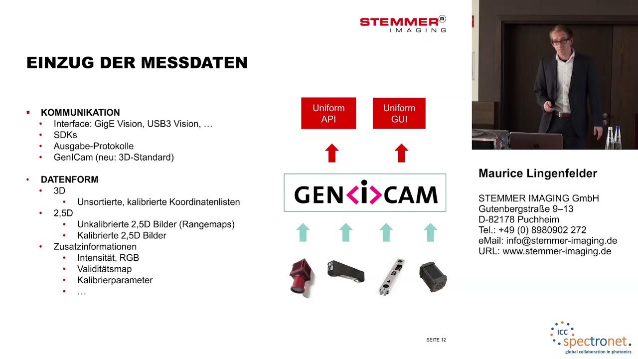 3D-Bildverarbeitung – Von der Problemstellung zum Ergebnis - Technologieforum Bildverarbeitung 2017