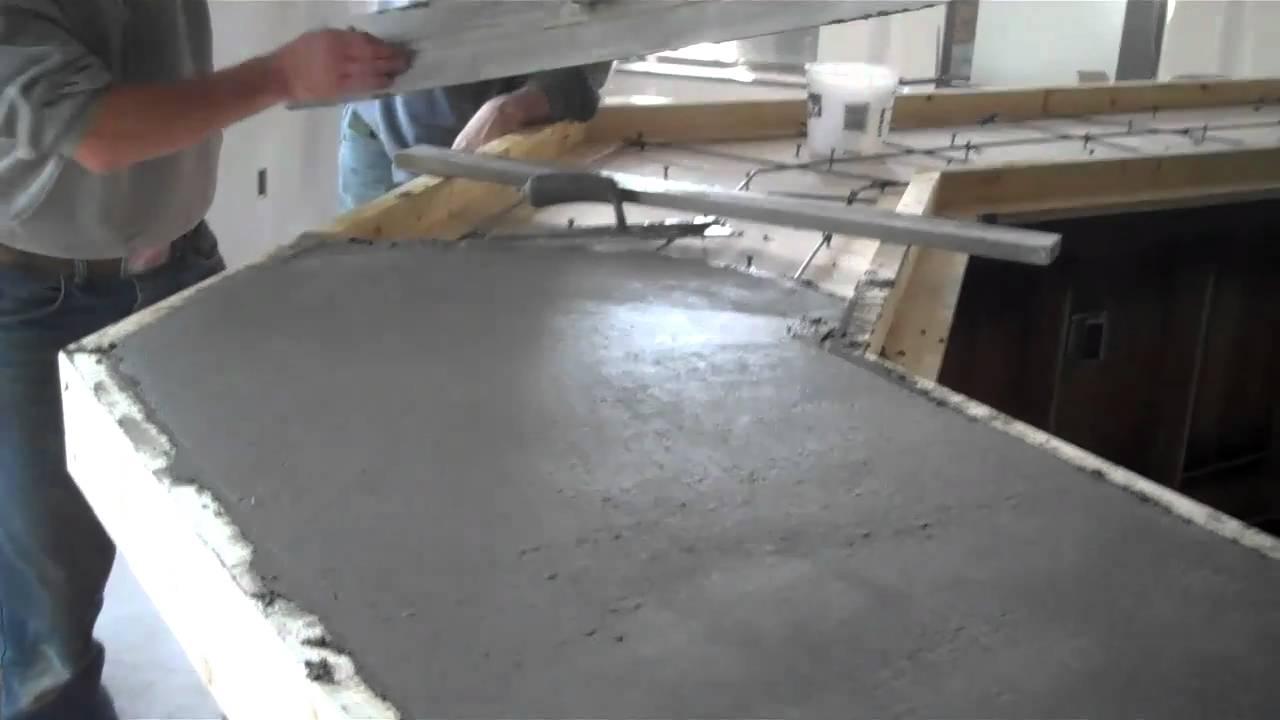 Concrete Countertops Pour La Crosse Wi Dublin Square