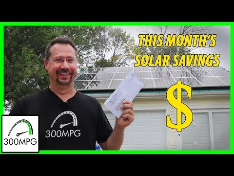 Monthly Solar Savings! (August)