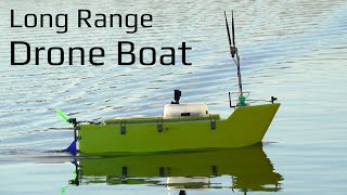 Long Range Autonomous Drone Boat - Build and Tuning