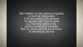 Biagio Antonacci - Mio Fratello (testo)