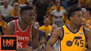 Clint Capela & Donovan Mitchell - Double Technical / Jazz vs Rockets Game 4