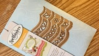 How to use - Spellbinders - Bracket borders one