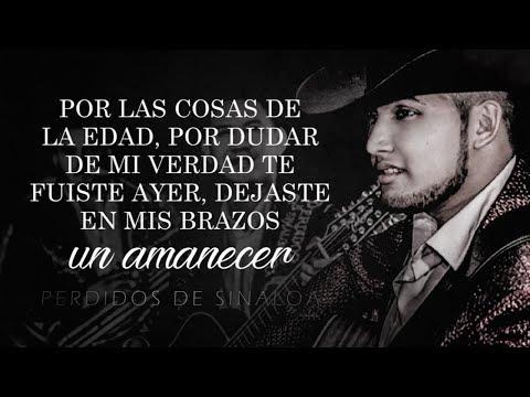 (LETRA) ¨INVÉNTAME¨ - Perdidos De Sinaloa (Lyric Video)