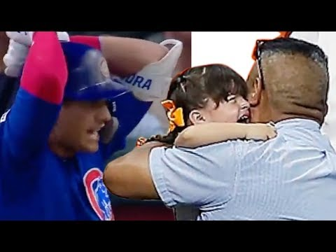Cubs Albert Almora Jr SOBBING & Completely Distraught After His Foul Ball Hits Little Girl In Stands