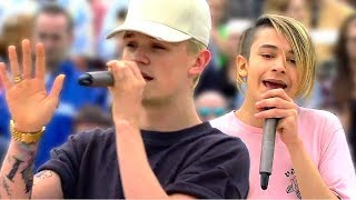 Bars and Melody: Thousand Years LIVE (ZDF Fernsehgarten, 2/7/17)