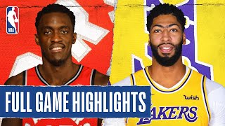 RAPTORS at LAKERS | FULL GAME HIGHLIGHTS | November 10, 2019