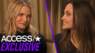 Angelina Jolie Admits She Had A 'Teen Crush' On 'Maleficent' Co-Star Michelle Pfeiffer