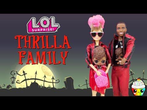 Thrilla Family DIY Custom Fun Craft With Barbie and Ken