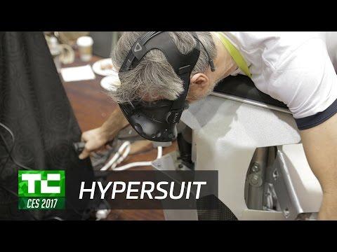 Hypersuit VR at CES 2017