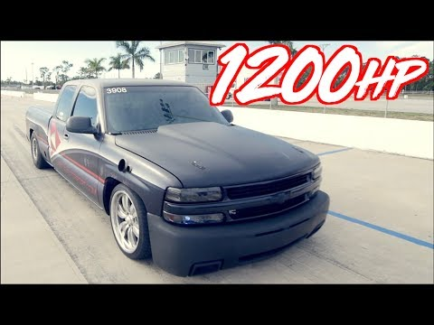 "1200HP Silverado ""Heavy Chevy"" vs 1000HP Hellcat + 900HP Evo Battle!"