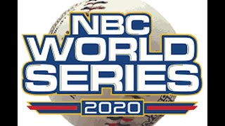 NBC World Series Game 21 Santa Barbara, CA Foresters vs Cheney, KS Diamond Dawgs