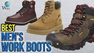 10 Best Men's Work Boots 2017