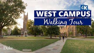 Duke West Campus Walking Tour video