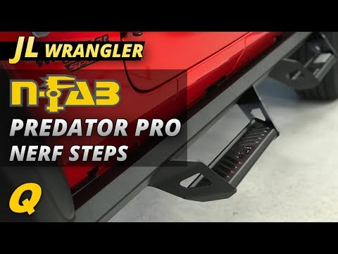 N-FAB Predator Pro Nerf Steps Review for Jeep Wrangler JL