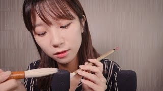ASMR 10 Triggers for Your Tingle & Relaxation :D (Whispering)