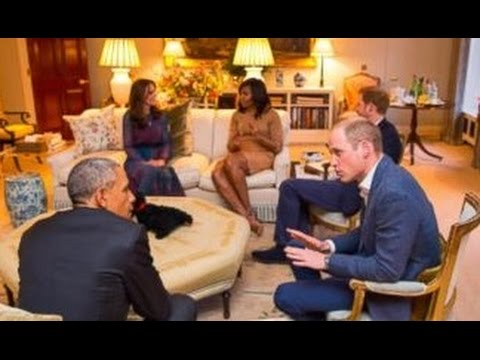 Obamas Dine with Prince William, Duchess Kate