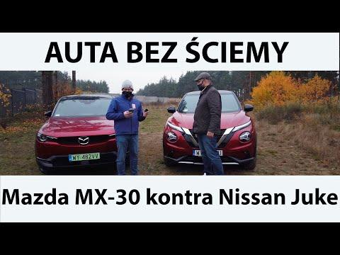 Auta bez ściemy - Mazda MX-30 kontra Nissan Juke