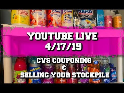 LET'S TALK CVS COUPONING & SELLING YOUR STOCKPILE
