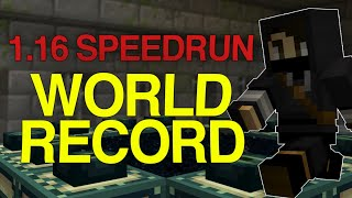MINECRAFT WORLD RECORD SPEEDRUN IN UNDER 14 MINUTES [13:53]