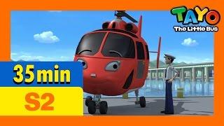 Tayo S2 Full Episodes S2 E20-E22 (7/8) l Gani's present l Air, the brave helicopter