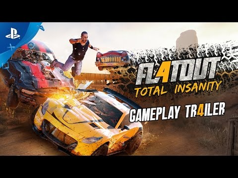 Flatout 4: Total Insanity Trailer