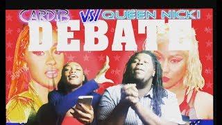Nicki Minaj Vs. CardiB || BardiGang Vs. Barbz Debate | We Got To Fighting | Drama Alert 🚨