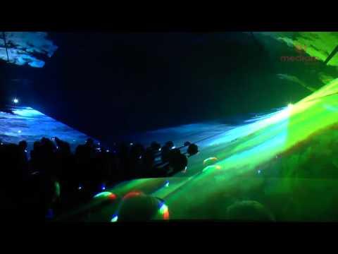 Pokaz laserowy Muszla Koncertowa Rowy 2015 LASERY INFO