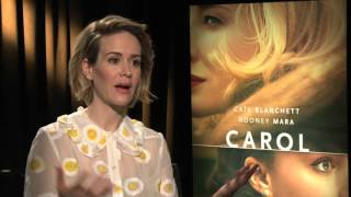 Sarah Paulson Talks About Her Life Long Friendship & Gay Marriage