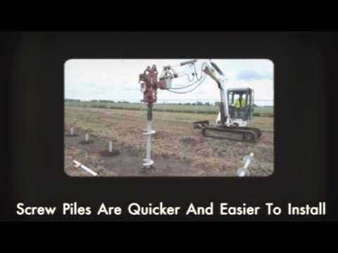 Are Screw Piles Right For Your Residence?