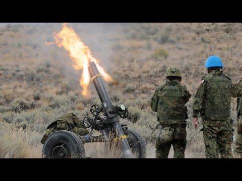 陸上自衛隊「120mm迫撃砲RT」発射訓練 - Mortier 120mm RT Live Fire, Japan Ground Self-Defense Force