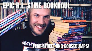 Epic R.L. Stine Bookhaul: Fear Street and Goosebumps