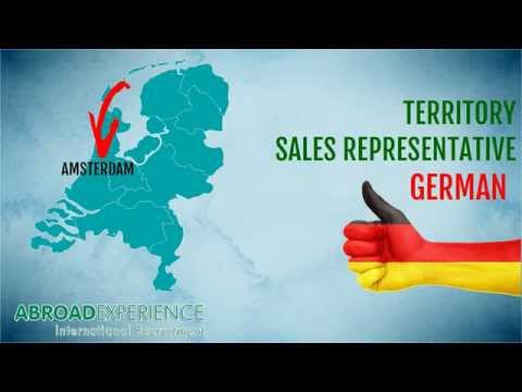Jobs in the Netherlands - Territory Sales Rep German photo