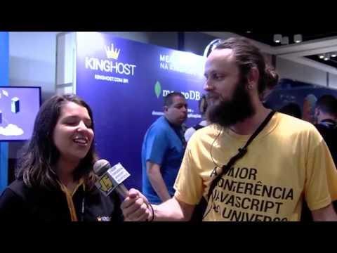 Entrevista BrazilJS 2016 - Kinghost