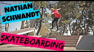 NATHAN SCHWANDT SKATEBOARDING!!!