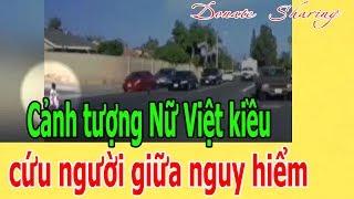 Cảnh t.ư.ợ.ng N.ữ Việt kiều c.ứ.u ng.ư.ờ.i giữa ng.u.y h.i.ể.m