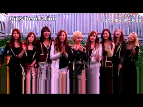 A Message From Girls Generation to the Philippines!